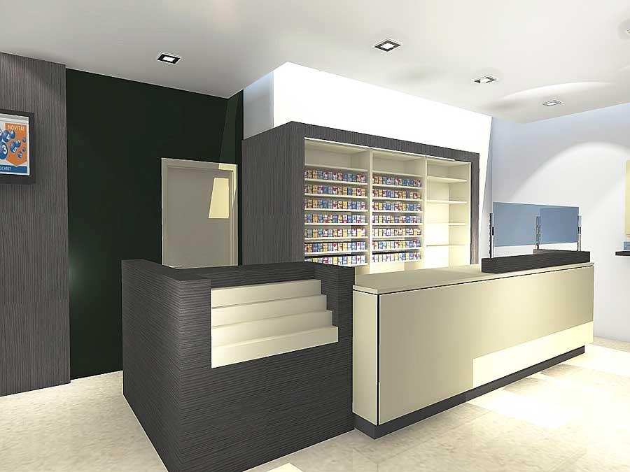 Galleria nuove forme for Arredamento bar tabacchi