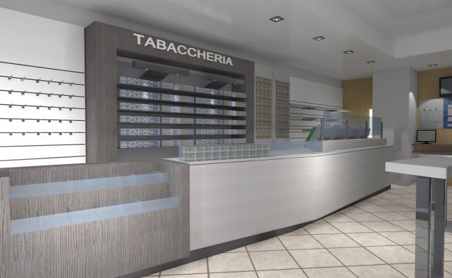 Tabaccheria ardelli cavour to nuove forme for Arredamento bar tabacchi