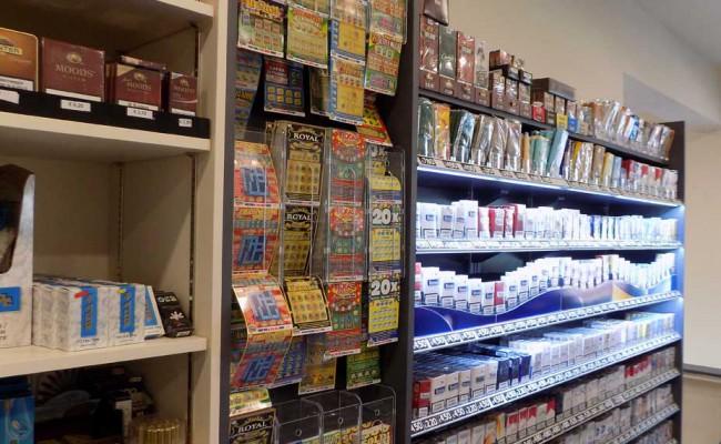 Bar tabaccheria lucky s g in marignano rn nuove forme for Arredamento bar tabacchi usato