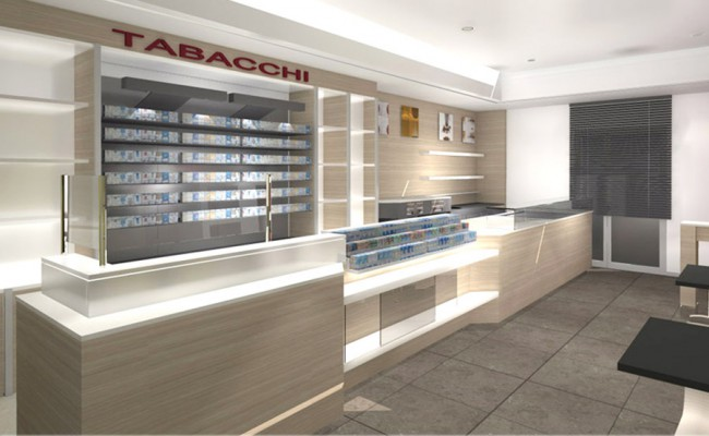 Bar tabaccheria liberty tursi mt nuove forme for Arredo tabaccheria